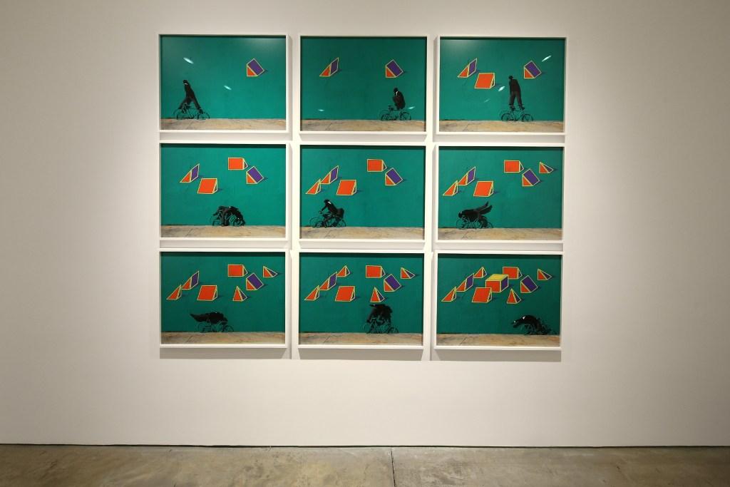 Robin Rhode at Lehmann Maupin Gallery