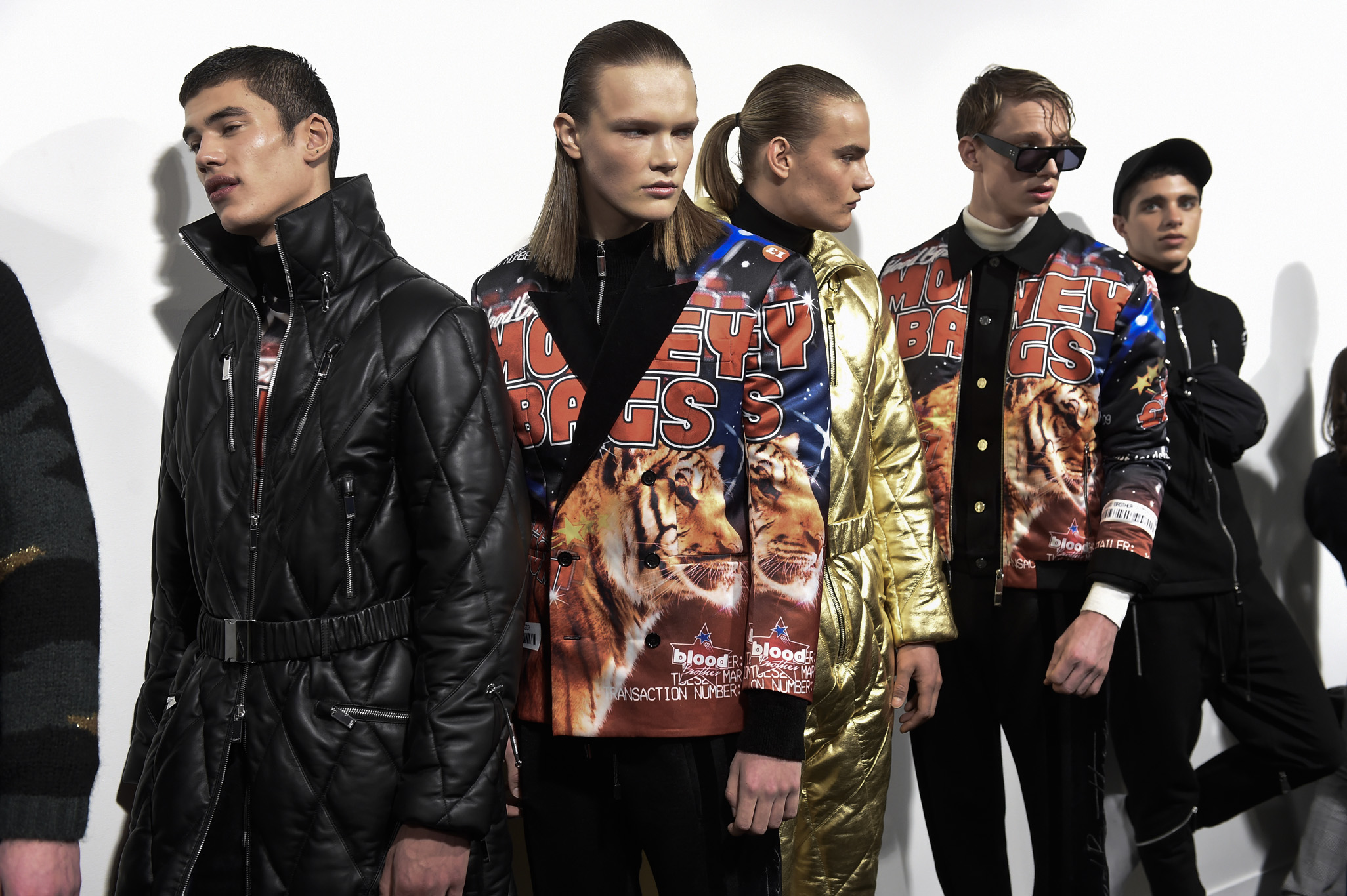 Backstage at Blood Brother Men's Fall 2018
