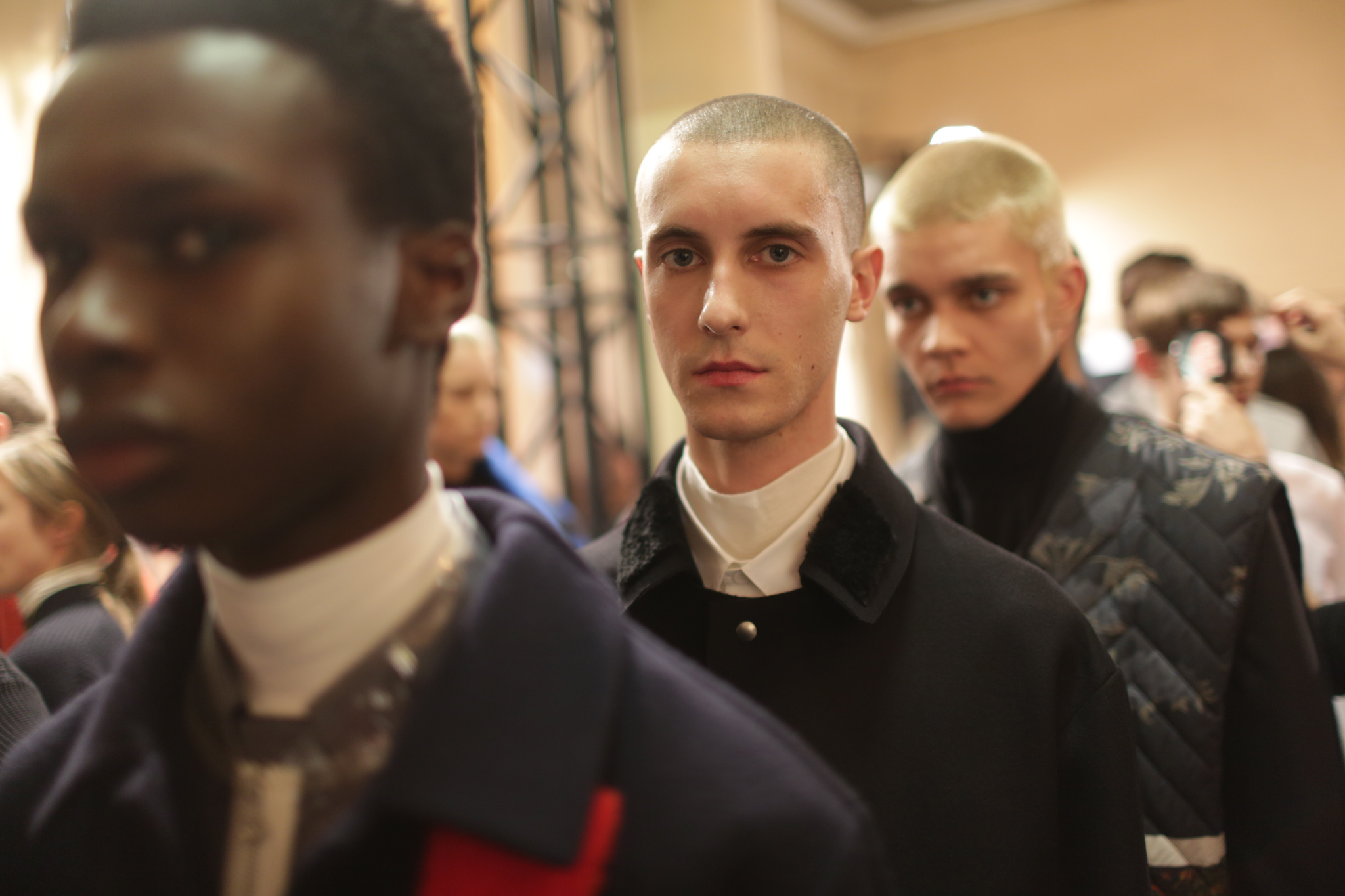 Backstage at OAMC Men's Fall 2018