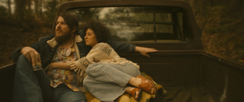 Benjamin Dickey and Alia Shawkat appear in <i>BLAZE</i> at the 2018 Sundance Film Festival.