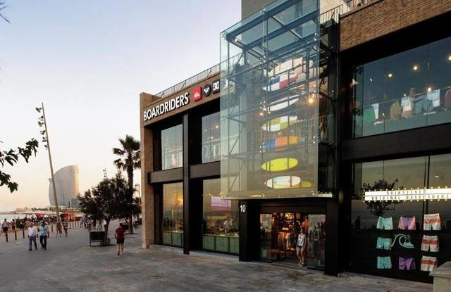 A Boardriders store in Barcelona.