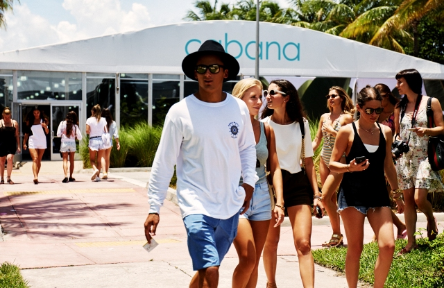 The Cabana show will be 25 percent larger when it exits its white tents.