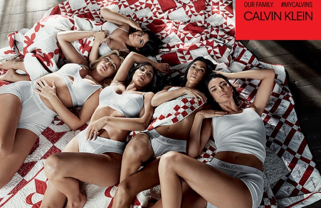 The Kardashian/Jenner sisters star in Calvin Klein Jeans and Underwear ads.