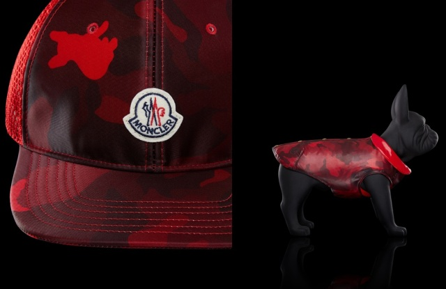 Moncler's capsule collection celebrating the Chinese New Year.