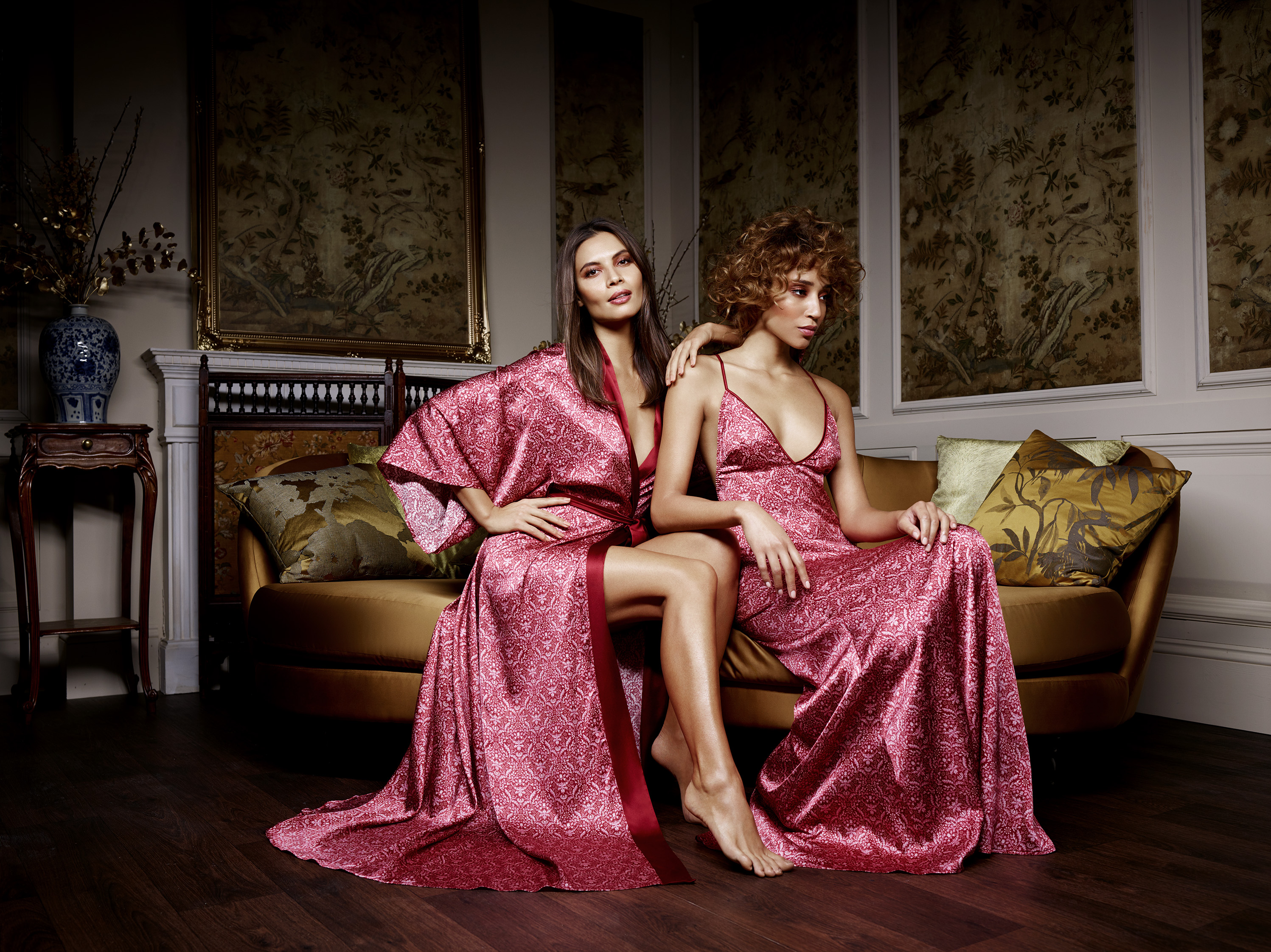 Looks from the V&A x Coco de Mer range