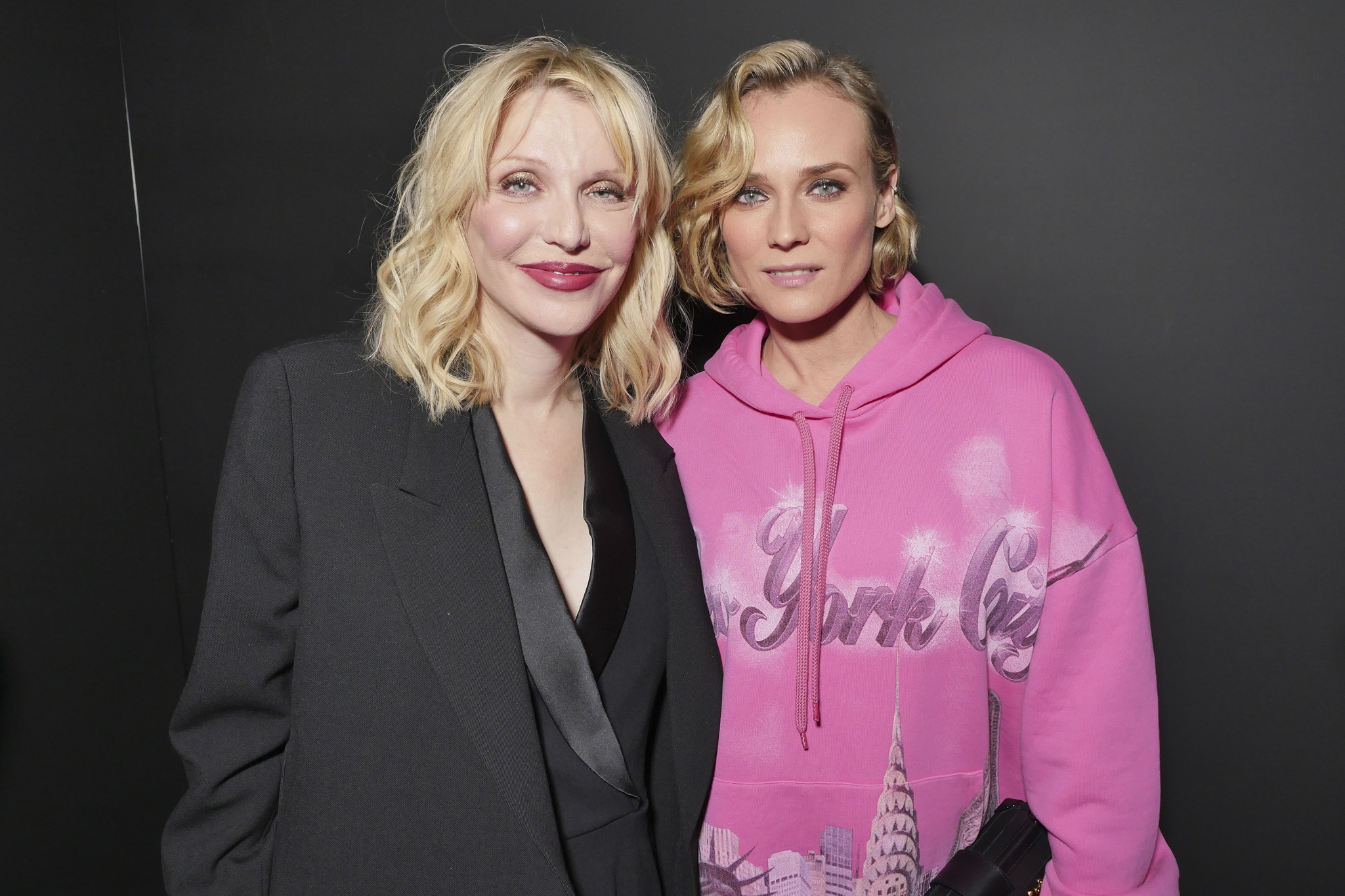 Courtney Love and Diane Kruger