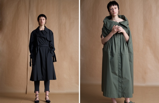 Looks from the Phvlo x Central Saint Martins range
