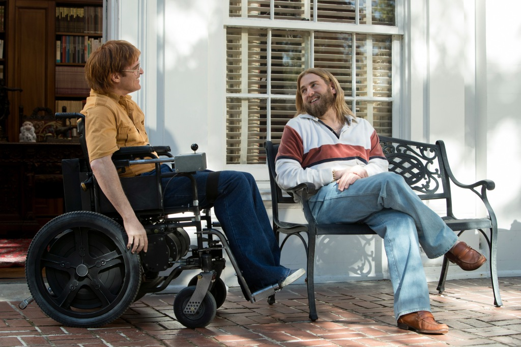 Joaquin Phoenix and Johah Hill appear in <i>Don't Worry, He Won't Get Far On Foot</i> at the 2018 Sundance Film Festival