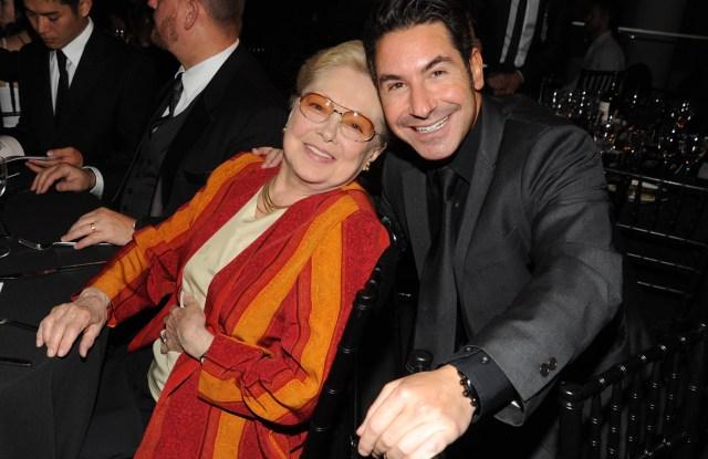 Dr. Mathilde Krim, Todd Michael KrimamfAR New York Inspiration Gala Celebrating Men's Style, New York, America - 14 Jun 2011