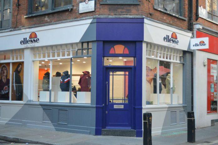 Ellesse store Covent Garden
