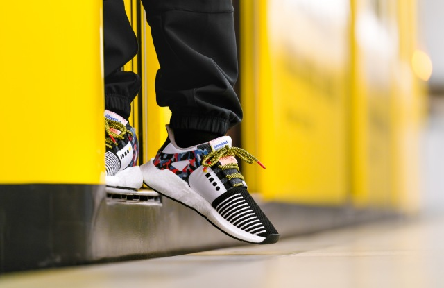Catch a free ride with the limited edition EQT Support 93/Berlin sneaker