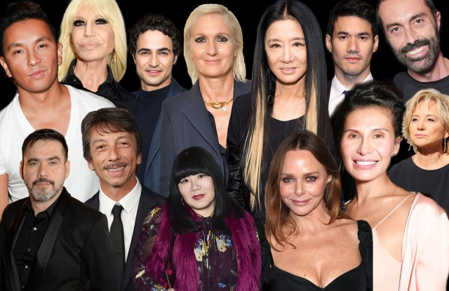 Back to Black? Designers React to the Red Carpet in the Season of Time's Up