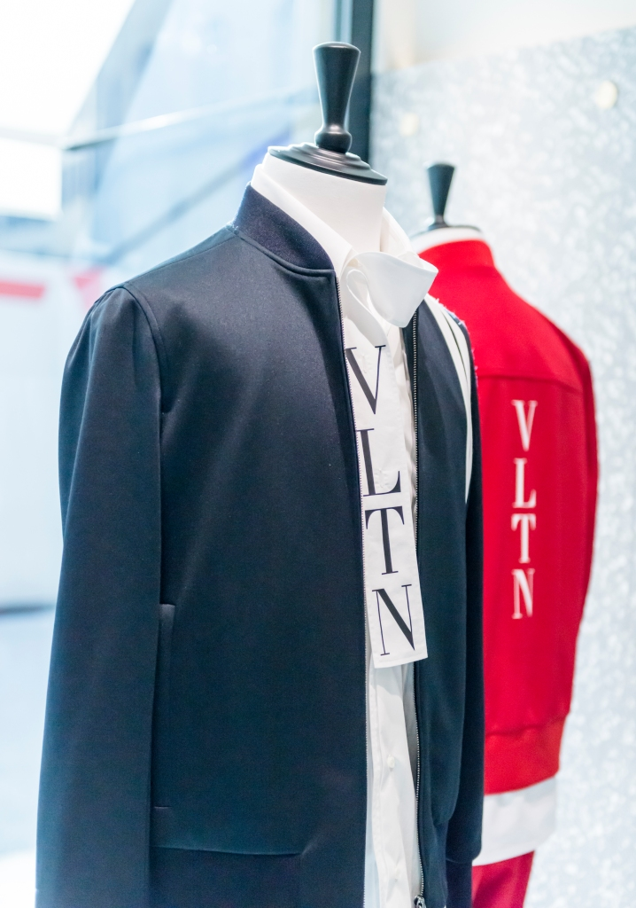 A look from the VLTN men's collection