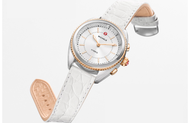 Fossil's Michele hybrid watch
