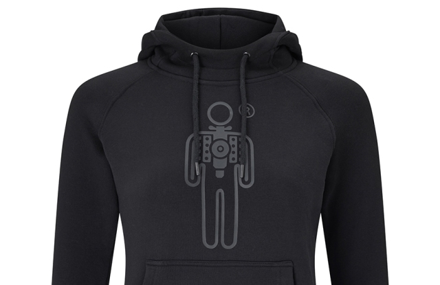 """""""Everyday Hoodie,"""" in black. Photo courtesy of HPE."""