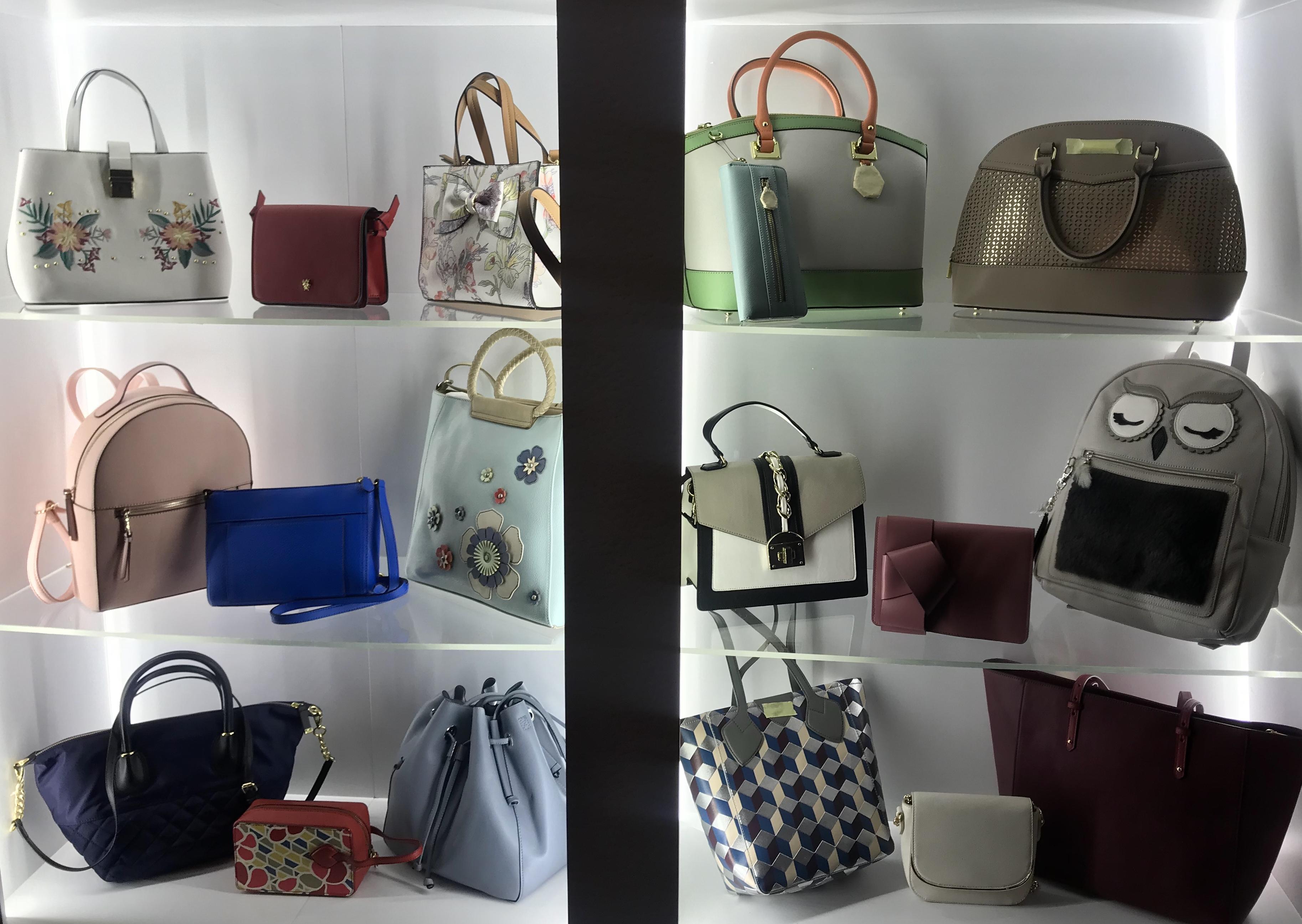 Wah Sun Handbags samples.