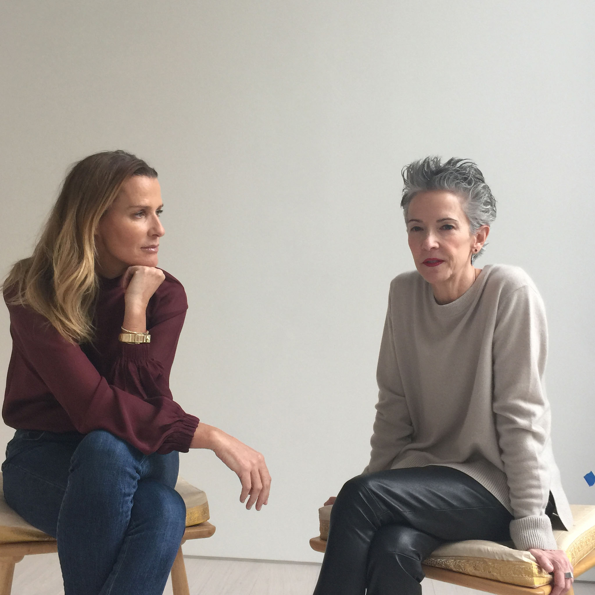 India Hicks and Catherine Walsh