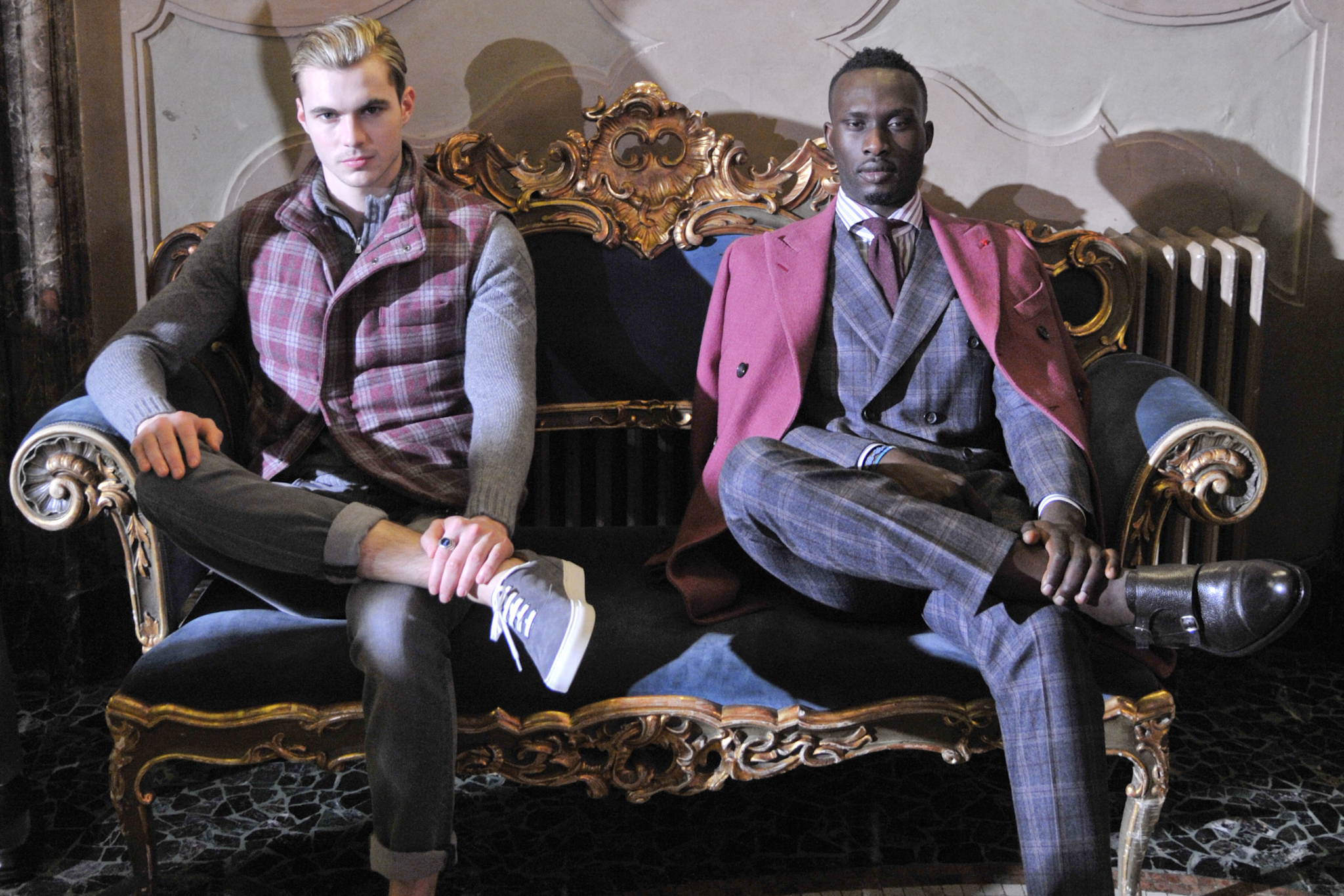 Isaia Men's Fall 2018