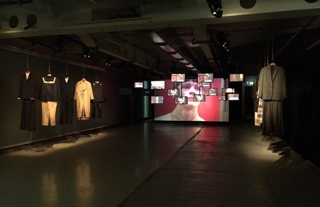 The J JS Lee Man installation