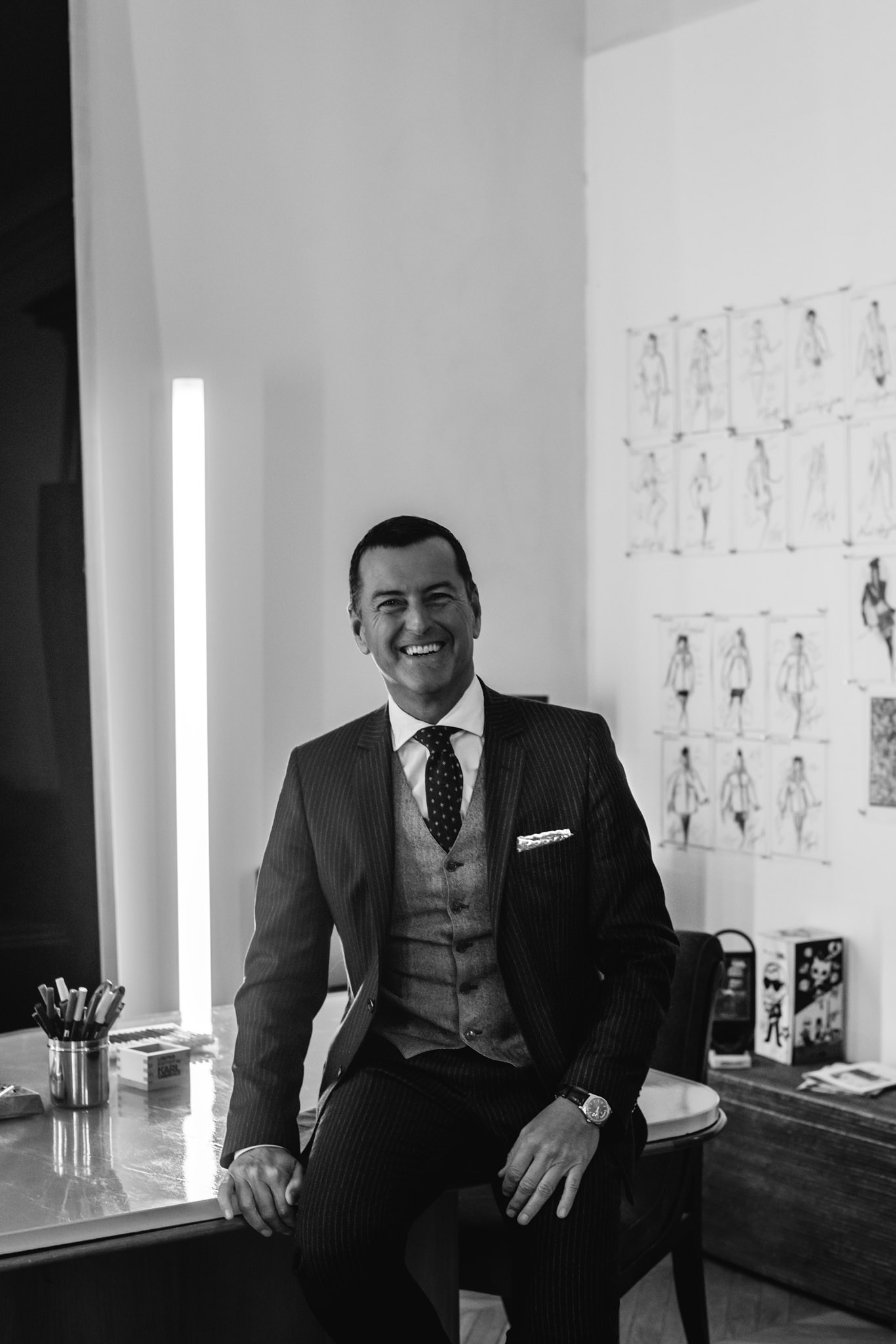 Pier Paolo Righi, CEO of Karl Lagerfeld