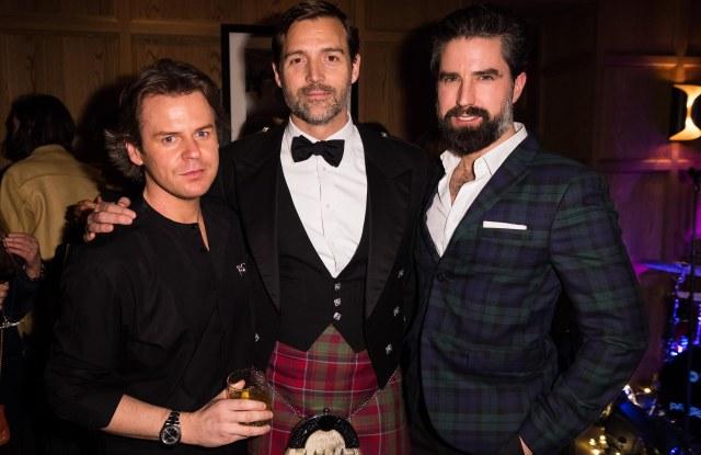 Christopher Kane, Patrick Grant and Jack Guinness