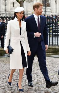 Meghan Markle and Prince HarryCommonwealth Day observance service, Westminster Abbey, London, UK - 12 Mar 2018