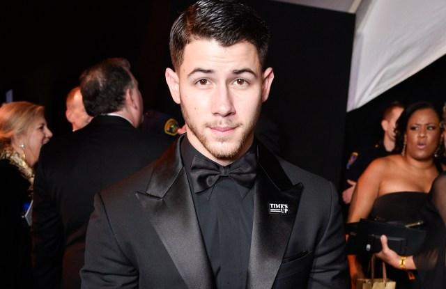 Nick JonasFOX Golden Globes After Party, Inside, Los Angeles, USA - 07 Jan 2018