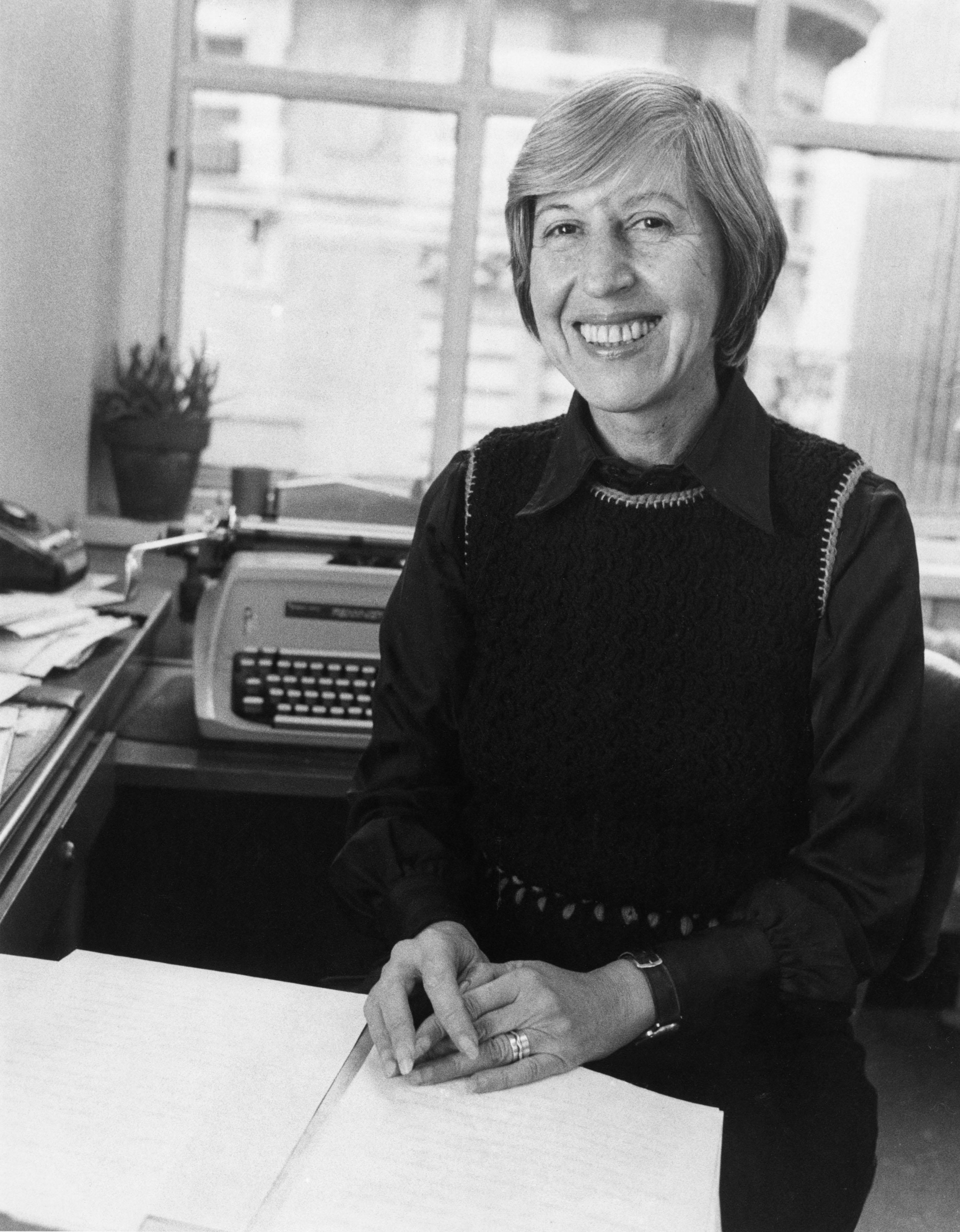 Bernadine Morris in 1976