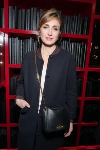 Julie Gayet at Boucheron's Vendôrama exhibit