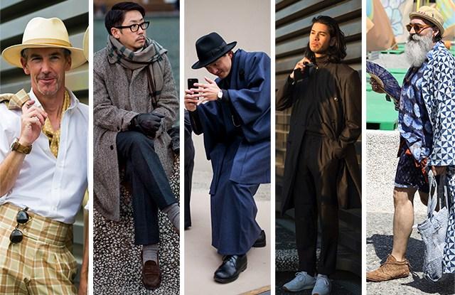 Street Style Photographers at Pitti Uomo