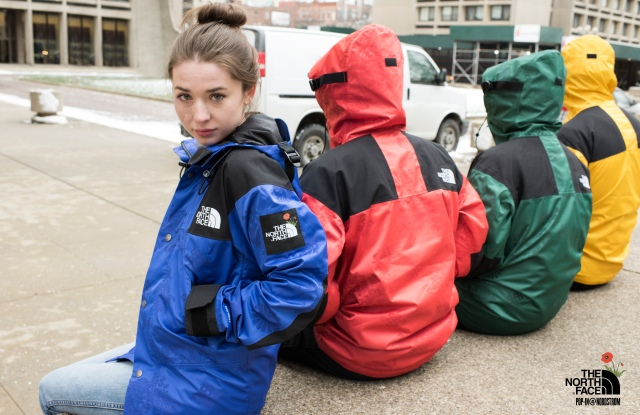 Pop-in@Nordstrom has teamed up with The North Face for a capsule collection.