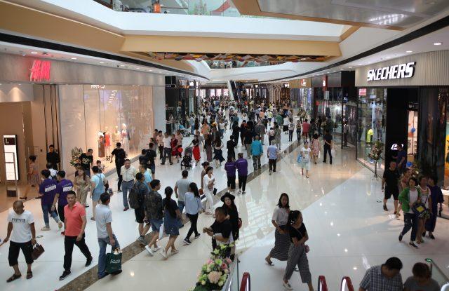 A Wanda City mall in Harbin, China.