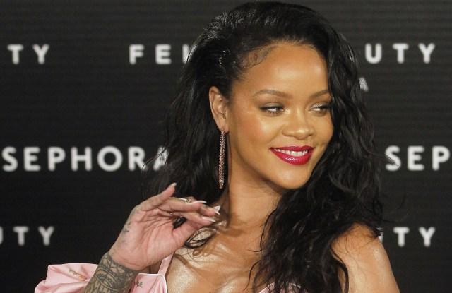 RihannaFenty Beauty By Rihanna Launch, Madrid, Spain - 23 Sep 2017