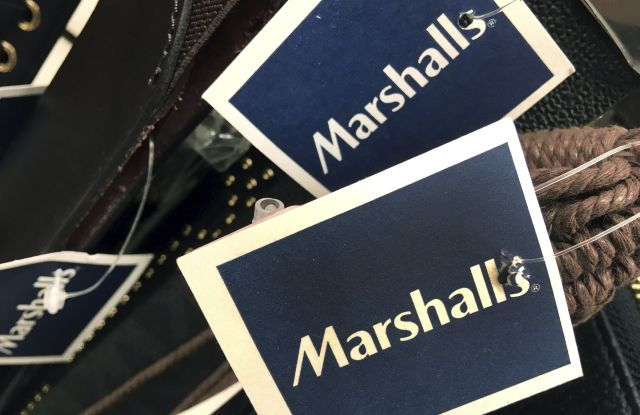 Marshalls tags are attached to merchandise in a store in Methuen, Mass. On Friday, Oct. 13, 2017, the Commerce Department releases U.S. retail sales data for SeptemberRetail Sales, Methuen, USA - 16 May 2017