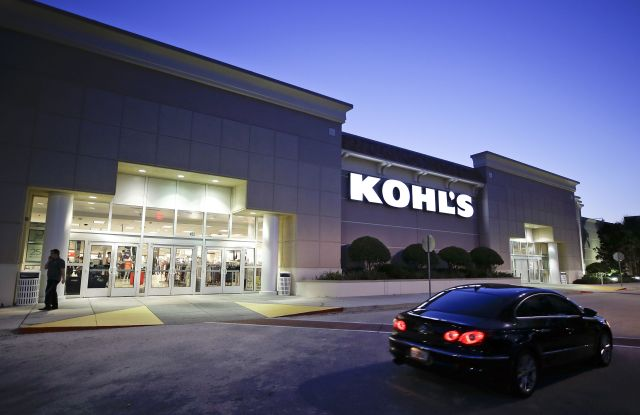 A car drives by the entrance of a Kohl's department store in Orlando, Fla. Retailers are trying to step up their game online and in person for the winter holidays, from dangling more discounts to livening up their stores. Kohl's says it's trying to woo new customers by making it more simple to shop, including being more clear about possible savingsRetail-Holiday, Orlando, USA - 22 Aug 2017