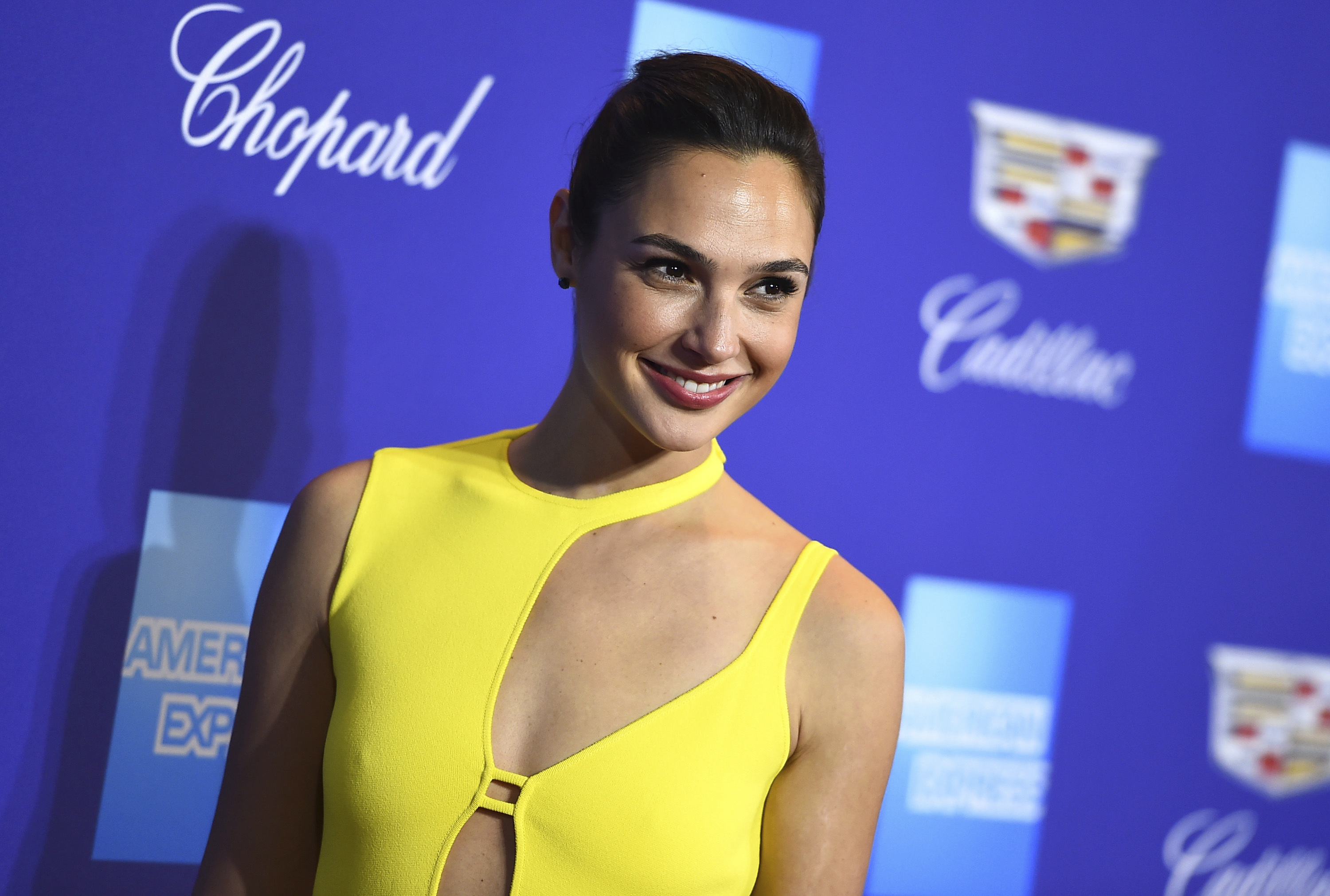 Gal Gadot arrives at the 29th annual Palm Springs International Film Festival, in Palm Springs, Calif29th Annual International Film Festival - Arrivals, Palm Springs, USA - 02 Jan 2018