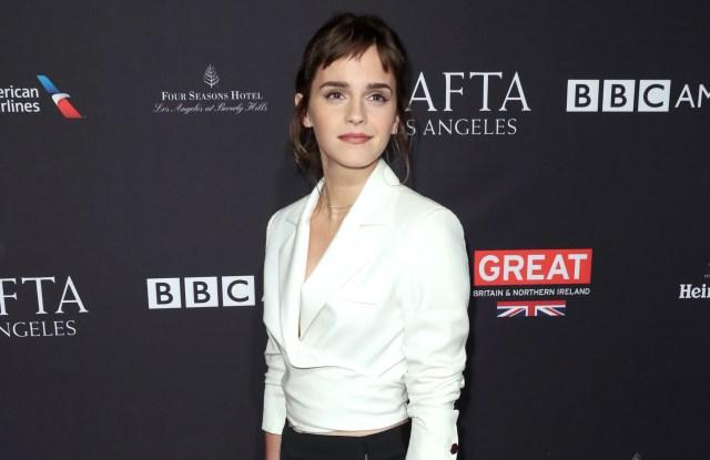 Emma WatsonBAFTA Tea Party, Los Angeles, USA - 06 Jan 2018