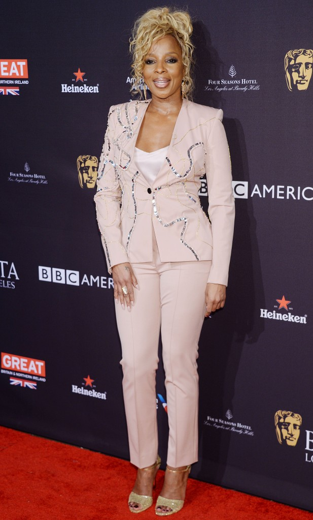 Mary J. BligeBAFTA Tea Party, Los Angeles, USA - 06 Jan 2018British Academy of Film and Television Arts Los Angeles Angeles Hosts the 2018 Bafta Tea Party