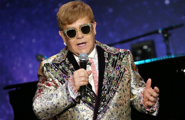 Sir Elton JohnElton John Announces Final Tour with a Performance at Gotham Hall in NYC, New York, USA - 24 Jan 2018
