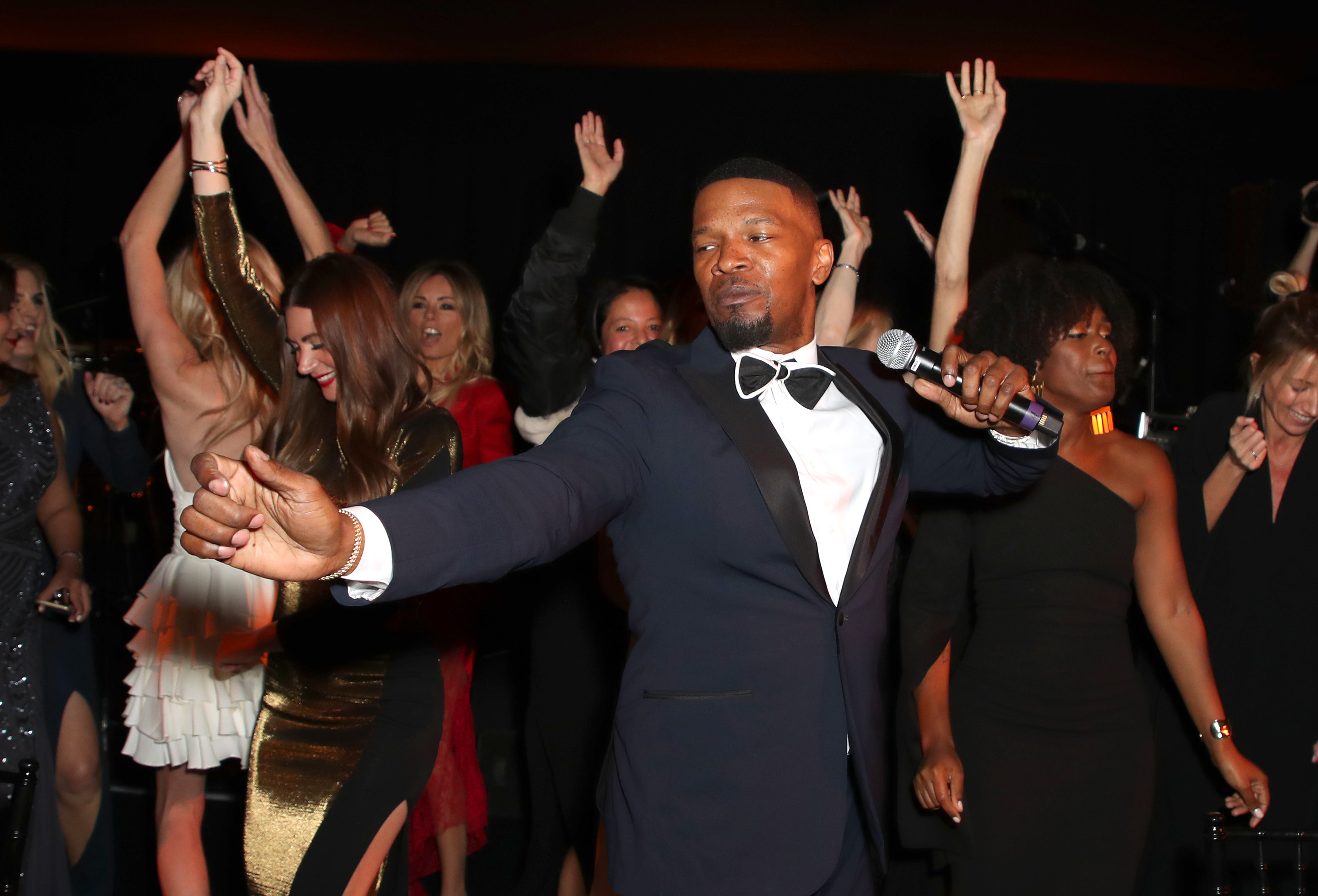 Jamie Foxx The Winter Gala, Inside, Los Angeles, USA - 25 Jan 2018