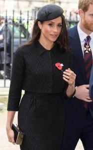 Meghan MarkleANZAC Day service at Westminster Abbey, London, UK - 25 Apr 2018