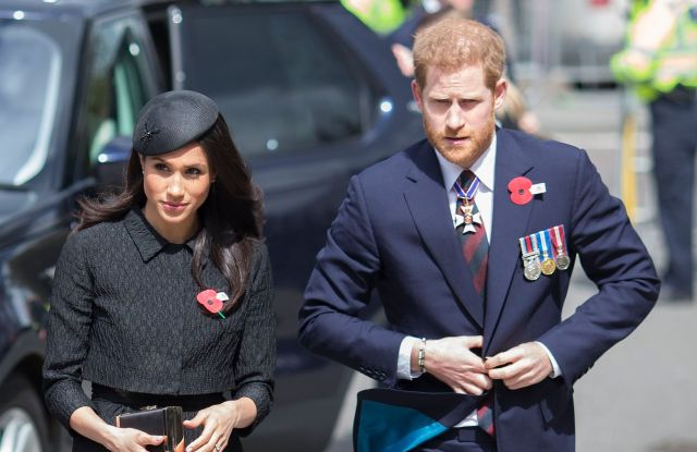 Prince Harry and Ms. Meghan MarkleANZAC Day service at Westminster Abbey, London, UK - 25 Apr 2018
