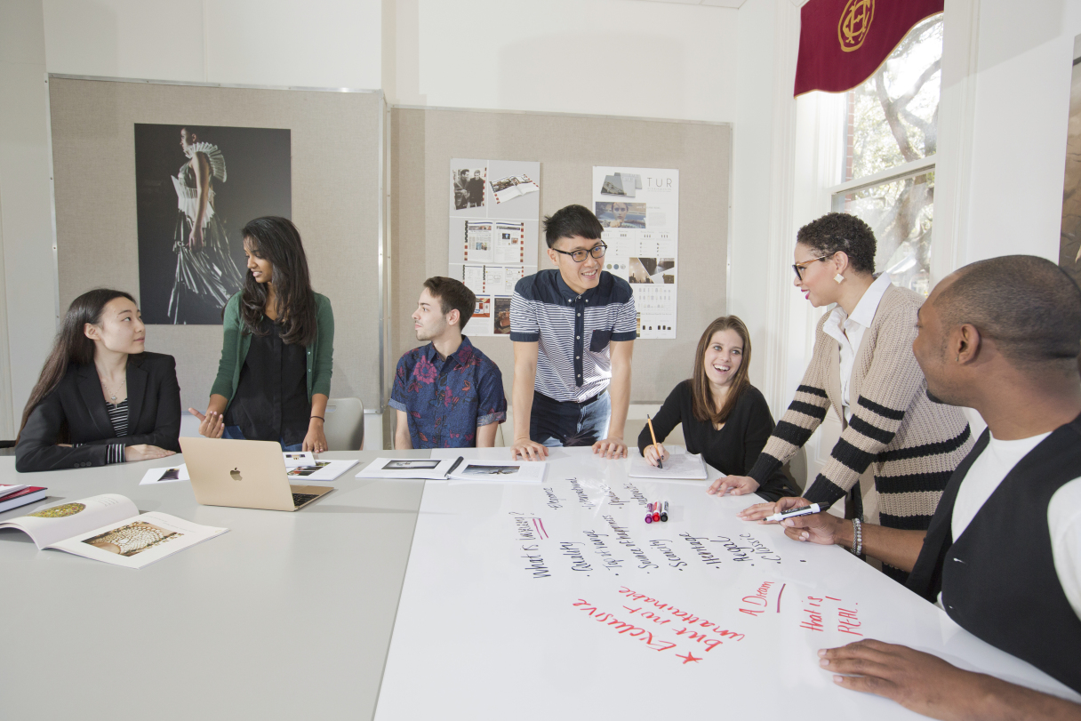 SCAD Savannah –Winter 2016 –Luxury and Fashion Management – Classroom Coverage – Morris Hall –Photography by Chia Chong