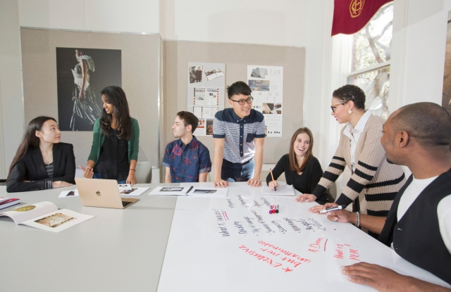 SCAD Savannah – Winter 2016 – Luxury and Fashion Management – Classroom Coverage – Morris Hall – Photography by Chia Chong