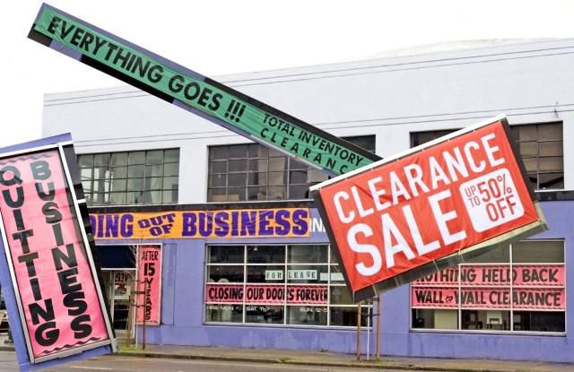 2019's retail bankruptcies.