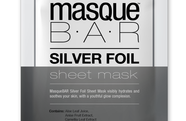 Look's Masque Bar Silver Foil Mask