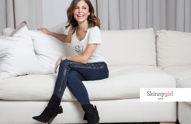 Bethenny Frankel in a look from her new Skinnygirl Jeans line.