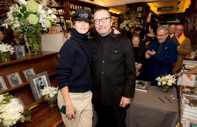 Stella Tennant and Paolo Roversi