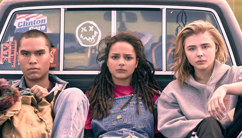 Forrest Goodluck, Sasha Lane and Chloë Grace Moretz appear in <i>The Miseducation of Cameron Post</i> at the 2018 Sundance FIlm Festival.