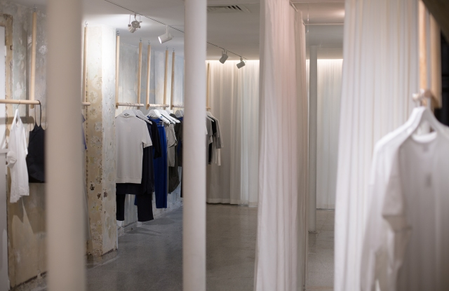 Inside The White Briefs' Paris boutique